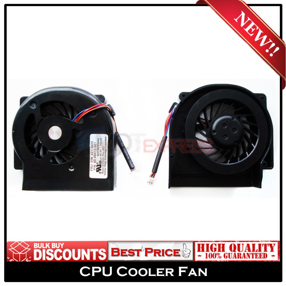New Free Shipping Notebook Laptop CPU Cooler Fan for IBM Lenovo ThinkPad X60 X60S X61 X61S PN: MCF-W03PAM05 60.4B413.001 42X3805(China (Mainland))