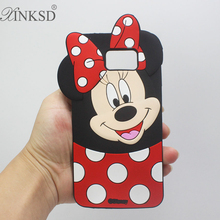 Buy Cute 3D Minnie Mickey Mouse Silicone Case Cover Samsung Galaxy S3 S4 S5 S6 S7 Edge Note 3 4 5 A3 A5 A7 2016 E5 J1 J5 J7 2015 for $44.65 in AliExpress store