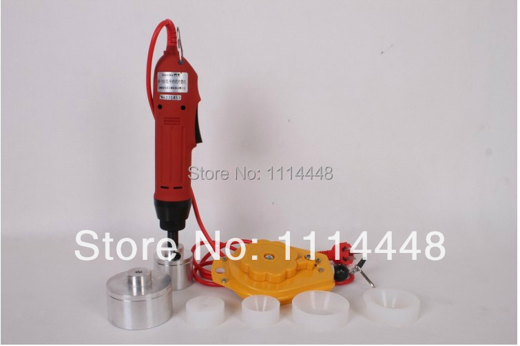 New Manual Electric Capping Machine Screw Capper Plastic Bottle Capping Machine for 10-50mm(China (Mainland))