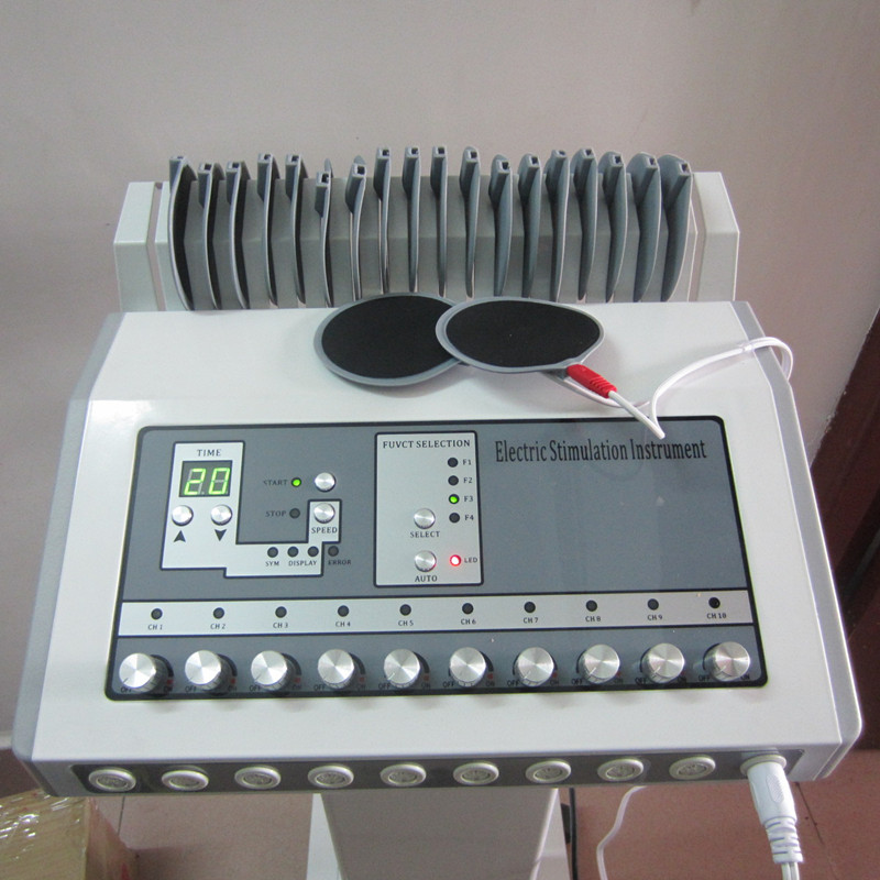 100% good quality guaranteed electric muscle stimulator ems slimming massage machine 110V/220V(China (Mainland))