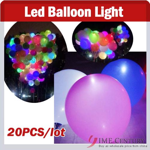 2 led light Led ballon Latex balloons Wedding Birthday,Christmas,Party Decoration,Colorful Flashing LED Light Lamp - factory electronic store