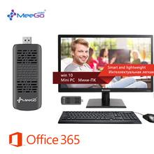 MEEGOPAD T05 BT Version Win 10 MINIPC Intel Atom Z3735F Quad Core USB2.0 WIFI,Bluetooth4.0 HDMI Audio Compute Tv Stick(With Fan)