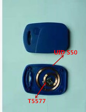 Buy IC+ID UID Rewritable Composite Key Tags Keyfob (125KHZ T5577 RFID+13.56MHZ UID Changeable MF S50 1K NFC ) for $1.38 in AliExpress store