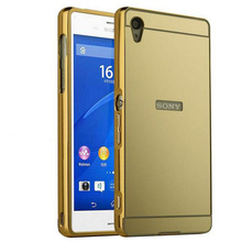 Buy Sony Xperia Z5 Premium Case Luxury Aluminum Metal Frame Bumper Plating Mirror Back Cover Coque Sony Z5 Premium Case Capa for $2.76 in AliExpress store