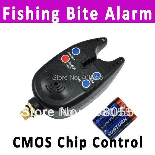 Free drop shipping fishing bite alarm fishing rod pole for Fish bite alarm