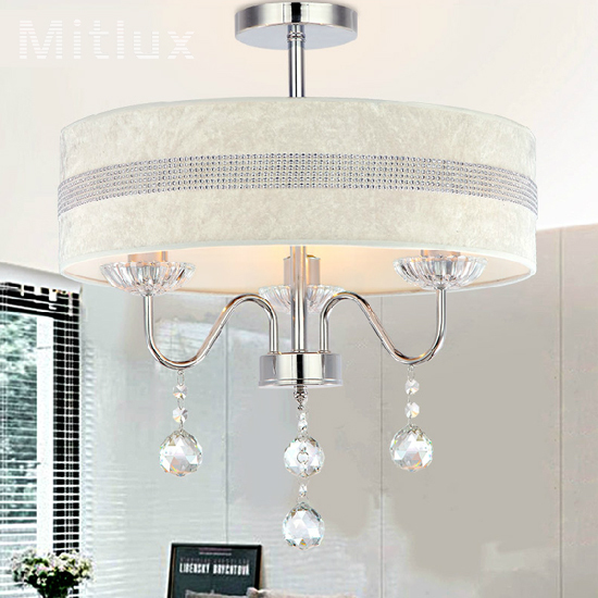Modern Simple Dining Room Lamps And Lanterns Circular Crystal Hanging Lamps D