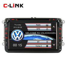 "2 Din 8"" Screen Built-in Bluetooth Car PC With GPS Navigation For VW Passat/B6/CC Jetta Golf 5/6 Polo Touran Tiguan Caddy SEAT(China (Mainland))"