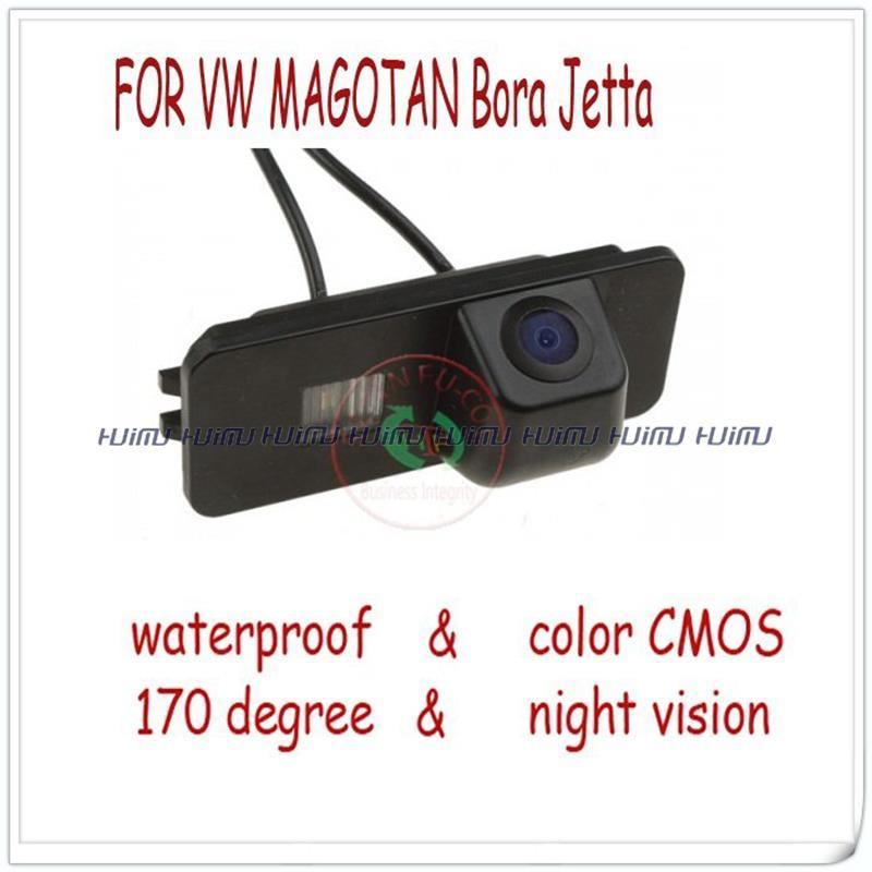 wired wireless car rear Camera for VW Jetta PHAETON/SCIROCCO/SEAT LEON/BORA/EOS/LUPO/BEETLE/GOLF/SUPERB Passat B6 variant(China (Mainland))