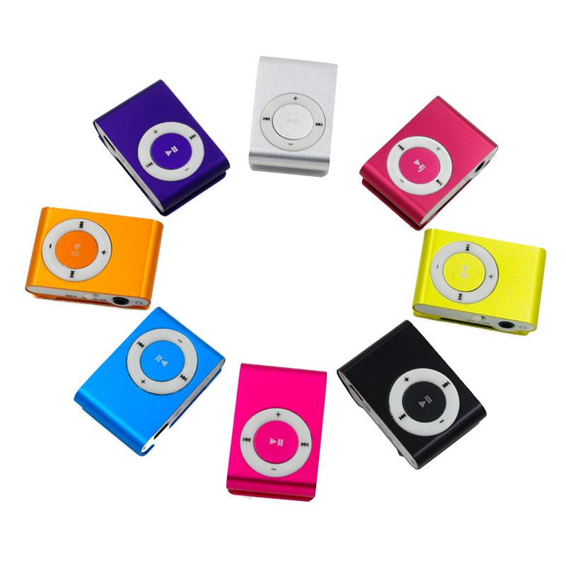 Superior Mini USB Metal Clip MP3 Player Support Micro SD TF Card Slot Digital mp3 music player(China (Mainland))