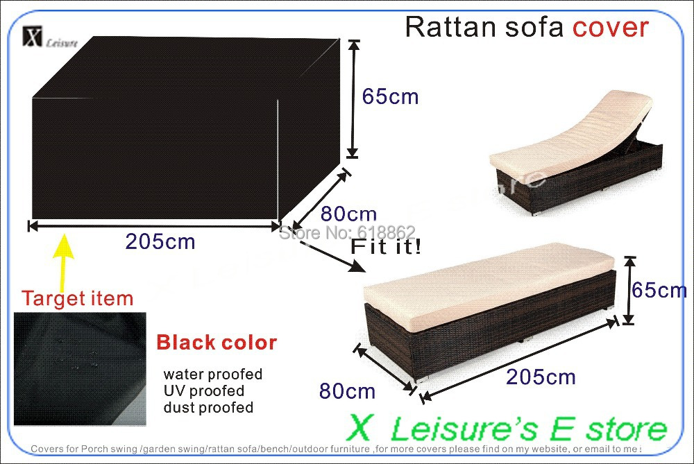 Free shipping Garden Rattan bed cover,garden furniture cover,water-proofed cover for outdoor furniture(China (Mainland))