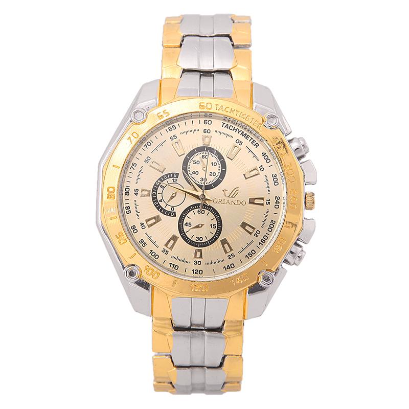 Fashion Men Stainless Steel Watches Analog Quartz Movement Wrist Watch Sport New L05861