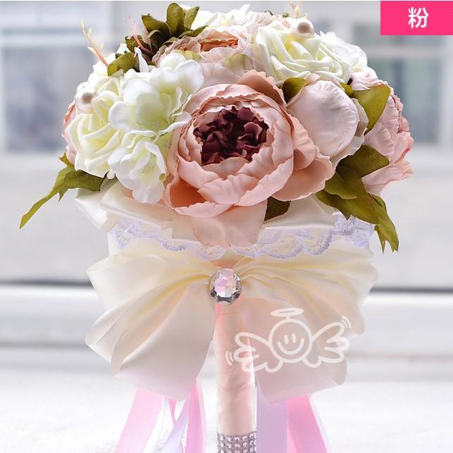 Artificial Bridal Bouquet Wedding Bouquet Flowers Bridesmaids Bouquet