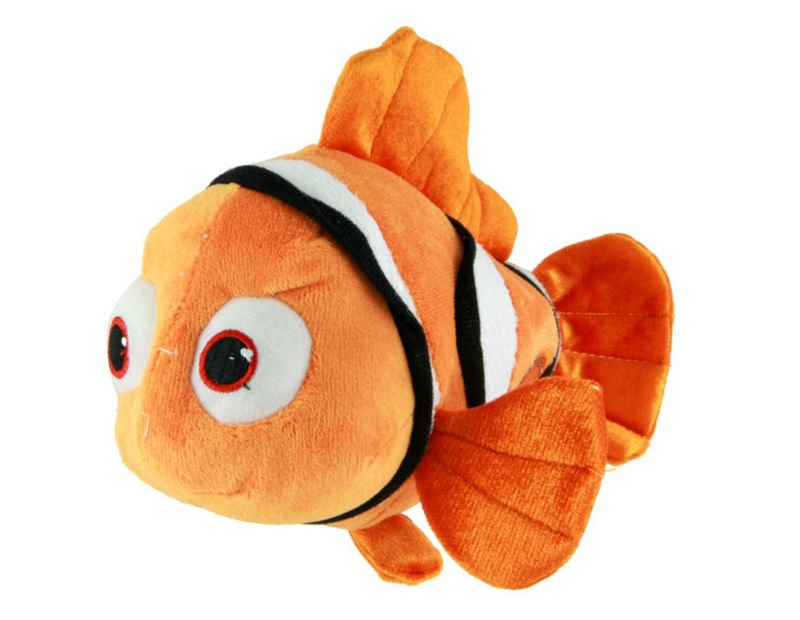 new christmas gift Anime Cute Clownfish stuffed plush toys best selling items(Dark Yellow) - HW Co.,Ltd online store