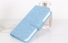 Hot!!!New cellphone Case for Apple iPhone 5 5S PU Leather Wallet Stand Flip Cover With Card Holders High Quality