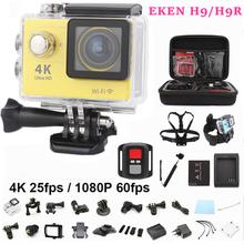 "Action camera Original EKEN H9/ H9R remote wifi Ultra HD 4K 1080P/60fps 2.0""LCD 170D lens go pro style waterproof sport camera(China (Mainland))"