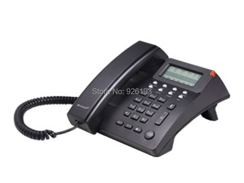 AT810 VoIP phone Supports 1 sip line 6 levels LCD comtrast VPN desktop Wall Mount office business IP telephone(China (Mainland))