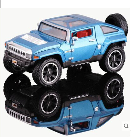 Store opening Hummer HX concept car Maisto 1:24 Alloy Toy Car model 2008 SUV Collection Classic cars Fast and Furious(China (Mainland))