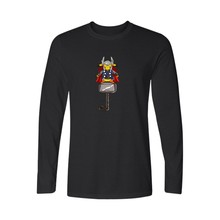 Pocket Monster Thor Long Sleeve Cotton Tees Men's T-shirt with Pokemon Go PIKACHU White T Shirt 4xl TShirts for Boys and Couples