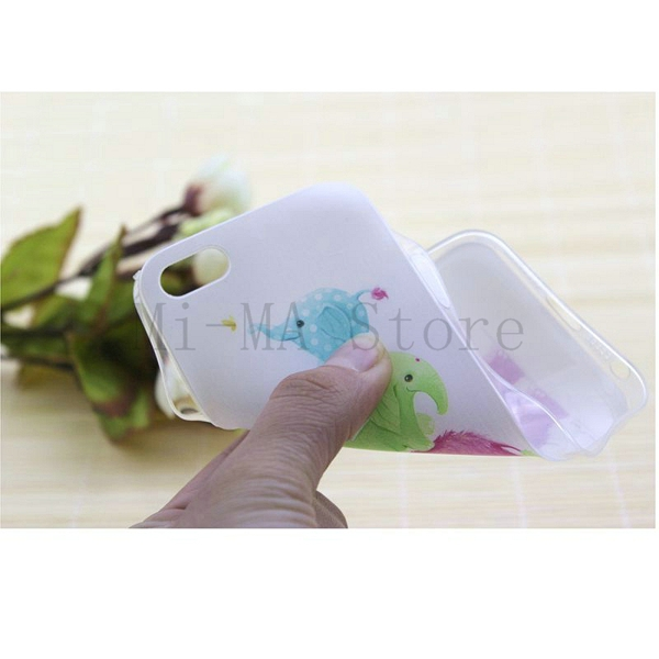 High Quality Cute Cover Soft TPU Side Transparent Case for apple iphone 5 5s 5se Case Shell Skin Covers