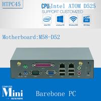 2016 New mini pc board mini server Micro Linux Server Support wireless keyboard, mouse D525 barebone