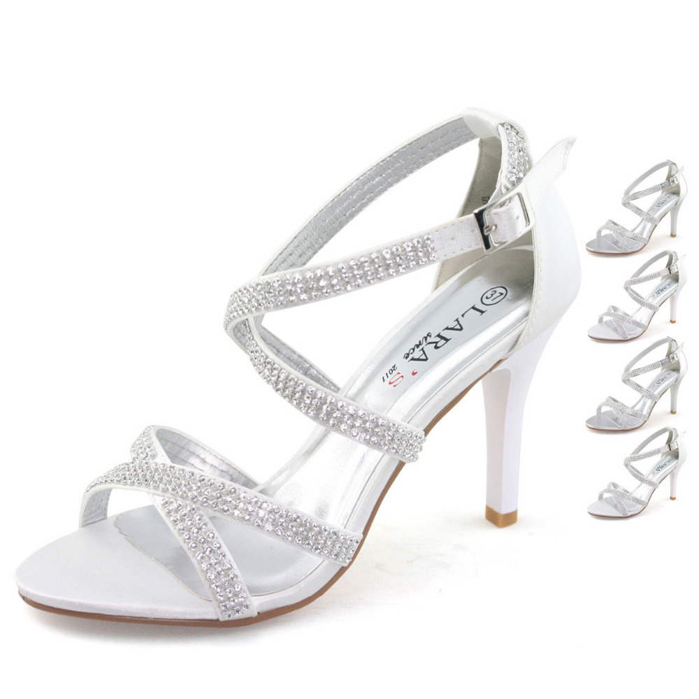 SHOEZY Brand New Wedding Shoes Women Sandals Party High