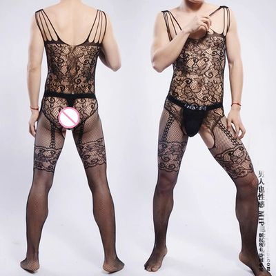 2016 breathability Sexy Photo Shoot Body stockings Mens Stockings BodyStocking Gay Pantyhose Sexy Lingerie Underwear Men's socks