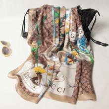 China Silk World Women silk scarf brand silk scarf mulberryshawls and scarves 100 silk hijabs for
