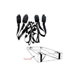 2016 Erotic Toys Under Bed Restraint Bondage Fetish Sex Products Hand & Ankle Cuff Bdsm Bondage Sex Toys For Couples Adult Games(China (Mainland))