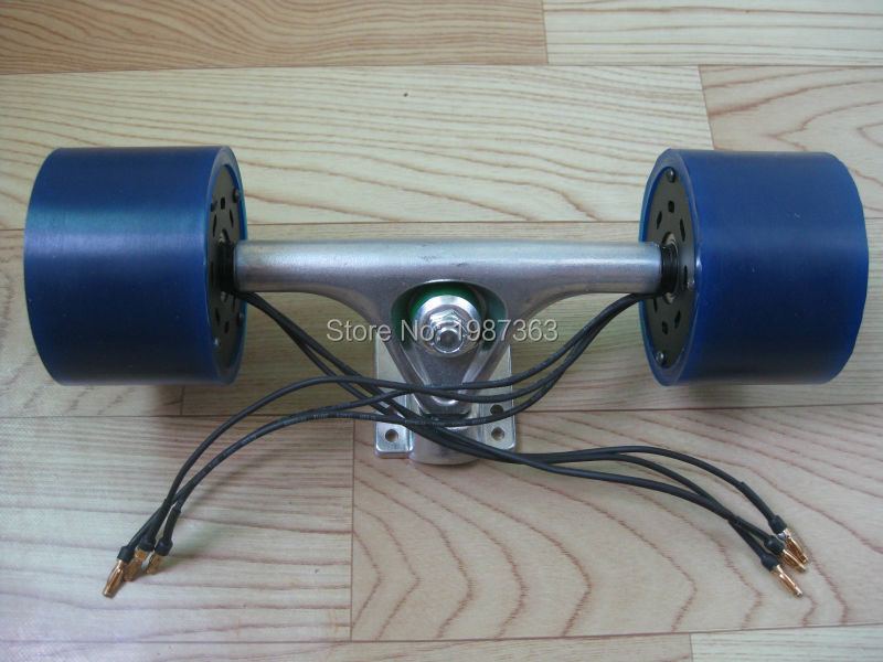 new arrival 63mm dual hub motors kit for diy electric. Black Bedroom Furniture Sets. Home Design Ideas