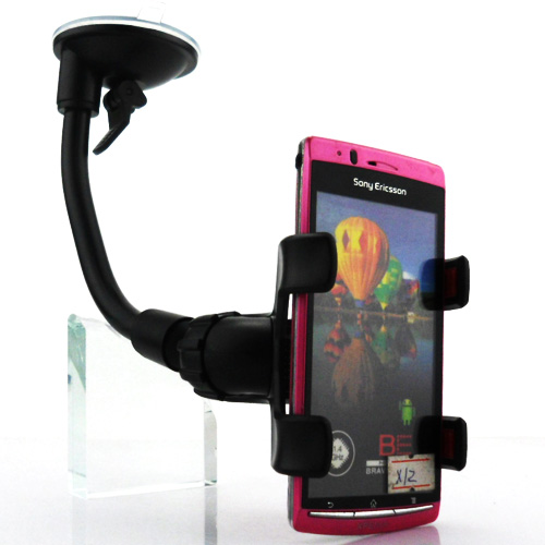 Universal Car Cell Phone Rotating Mount Stand Holder For Sony Xperia Arc S X12 LT15i LT18i(China (Mainland))