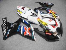 Buy Motorcycle Fairing kit SUZUKI GSXR600 750 K6 06 07 GSXR 600 GSXR 750 2006 2007 ABS white black Fairings set+7gifts SC37 for $345.96 in AliExpress store
