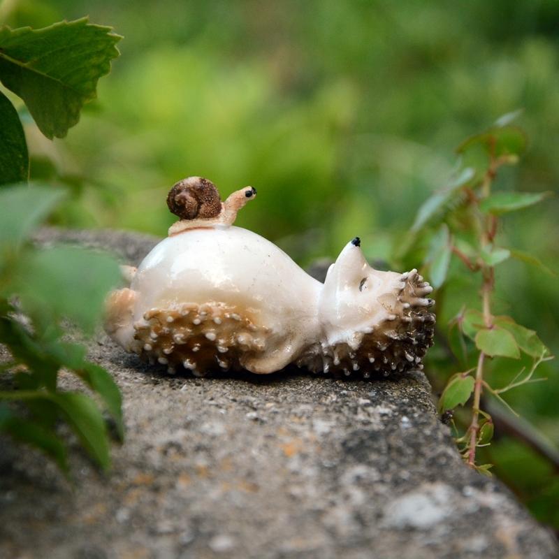 buy sleeping hedgehog miniatures lovely
