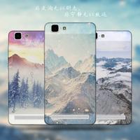 New Landscape Phone Case for BBK Vivo X5 Max Case Cover Ultrathin Case for VIVO X5 Max 5.5 TPU Back Cover Fundas Para