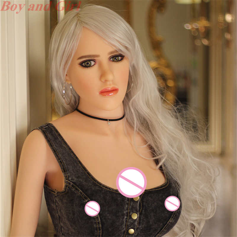 Silicone Sex Doll 148cm Big Boobs Soft Solid Skin Meterial Life Size Female Sex Doll For Men Sex Black Nipple Vaginal Real Wife(China (Mainland))