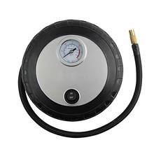 Mini Tyre Shape DC12V 20Liter Per Minute Electric Car Auto Inflatable Pump Air Compressor Tool(China (Mainland))