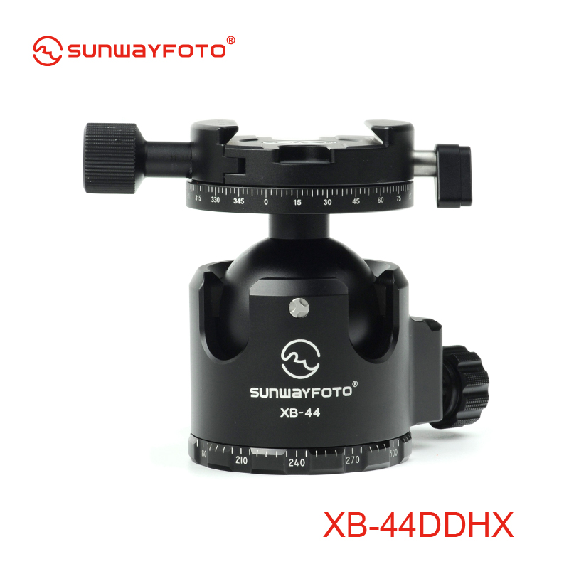 SUNWAYFOTO XB-44DDHX Low-Profile Professional Tripod Ball Head with Panoramic Clamp for DSLR Camera(China (Mainland))