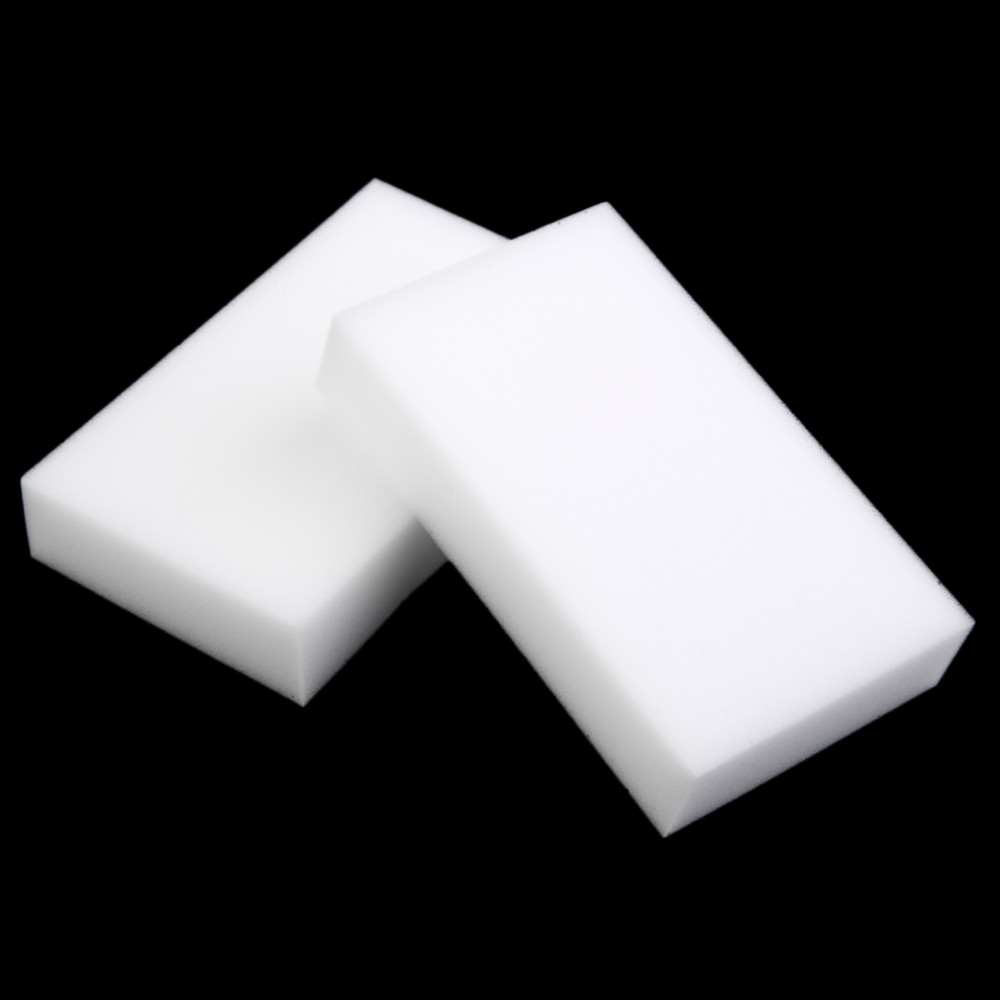100 pcs/lot White Magic Sponge Eraser Melamine Cleaner,multi-functional Cleaning 100x60x10mm - JUFANG Store store