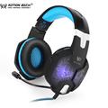 KOTION EACH G1000 Gaming headphones PC Gamer headset Over Ear Noise Isolating Breathing LED Lights headphone