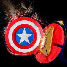 Buy Avengers Iron Man Fidget Spinner Captain America Shield Finger Spinner EDC Hand Spinner Anxiety Stress Relief Toys Kid for $2.92 in AliExpress store