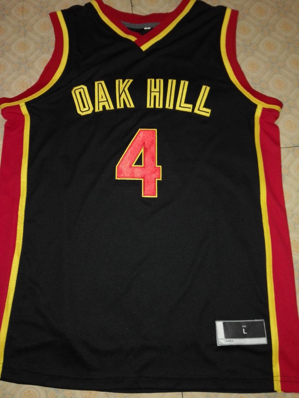 zhimoom Rajon RONDO JERSEY,#4 Rajon Rondo Oak Hill High School Throwback Basketball Jerseys, Men's Double Stitched Rajon Rondo(China (Mainland))