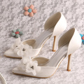Magic Custom Handmade Classy Party Ladies Dress Shoes Bride Thin Heel Size 7