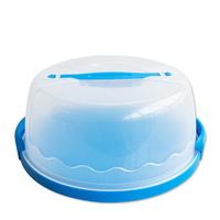 Thickening portable plastic cake box environmental protection PP portable handheld birthday cake box