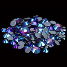 Hotfix Rhinestones With Glue Backing Iron On Strass Perfect for Clothes Shoes Dresses Fashion Strass Amethyst AB Color(China (Mainland))