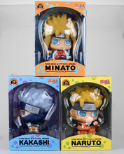 3Styles 18CM Naruto Uzumaki Naruto Namikaze Minato Hatake Kakashi Piggy Bank PVC Figures Collectible Model Toys(China (Mainland))