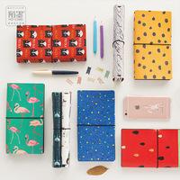 8 Styles Japanese Creative Kawaii Cute Cartoon DIY Notebook Leather Bound Travel Journal Diary Planner Agenda Gifts caderno