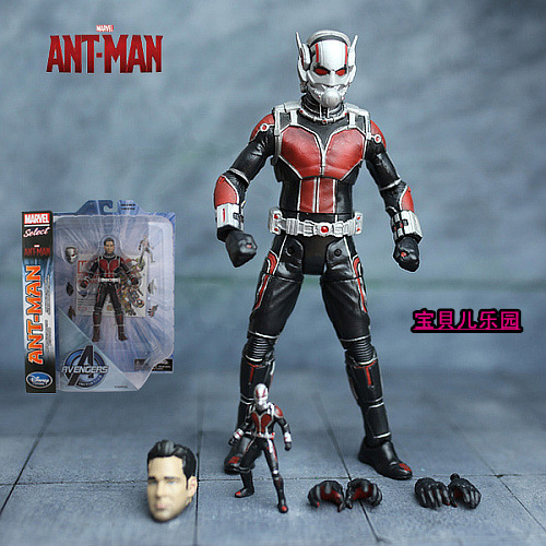 hot ! 23cm avengers Super hero Ant-Man action figure toys Christmas doll toy gift