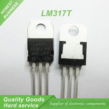 10 ШТ. бесплатная доставка LM317T LM317 Регулятор Напряжения IC 1.2 В до 37 В 1.5A TO-220 100% новый первоначально качество обеспечение(China (Mainland))