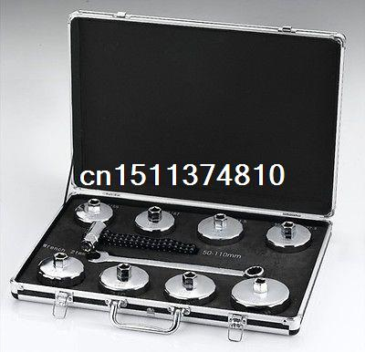 New Socket 10pcs Cap Style Oil Filter Wrench Set Auto Hand Tool For all Vehicels(China (Mainland))
