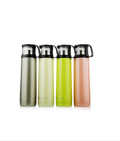 2016 Stylish Thermos Bottle 500ml High Quality Stainless Steel 6 Hours Thermal Water Cup Vacuum Flask Mug Drinkware Free Shpping(China (Mainland))