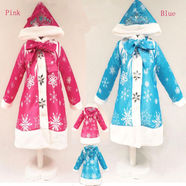 Boys girls coats and jackets anna elsa warm coat snowsuit girls jacket manteau fille manteau enfant high quality free shipping<br><br>Aliexpress